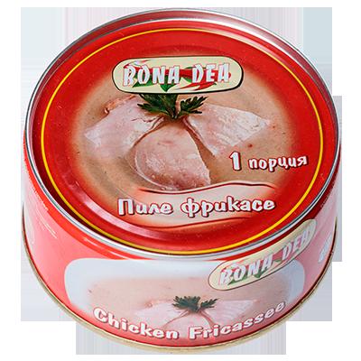 Chicken fricassee 300g.