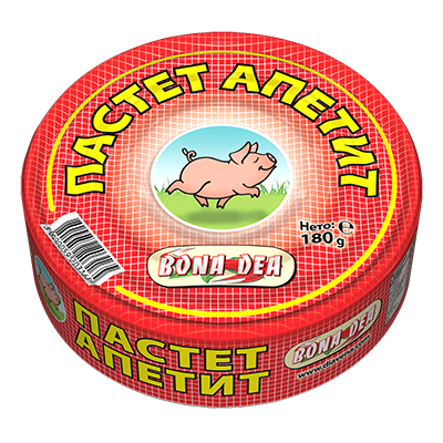 Пастет Апетит 180гр.