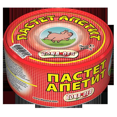 Пастет Апетит 300гр.