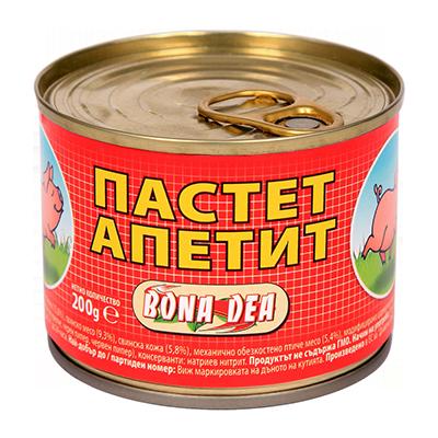 Пастет Апетит 200гр.